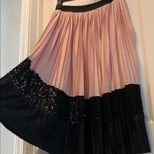 Zara Summer Pleated Skirt